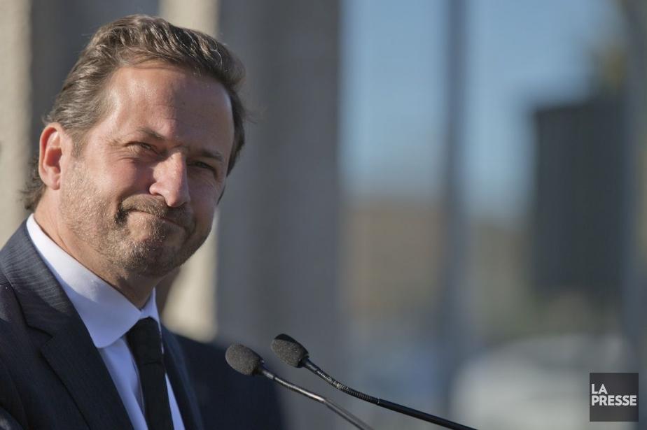 Le ministre de l'Environnement, Yves-François Blanchet.... (PHOTO DAVID BOILY, LA PRESSE)