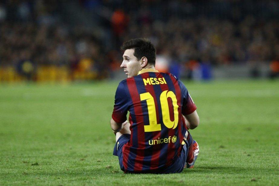 Meilleur buteur de la Liga l'an dernier avec... (PHOTO QUIQUE GARCIA, AFP)