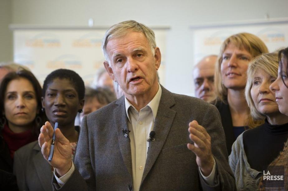 Marcel Côté lors de la dernière campagne électorale.... (Archives La Presse, Robert Skinner)