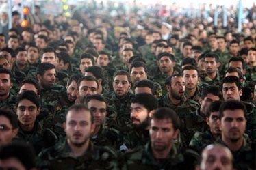Les gardiens de la révolution islamique en Iran.... (Photo: AFP)