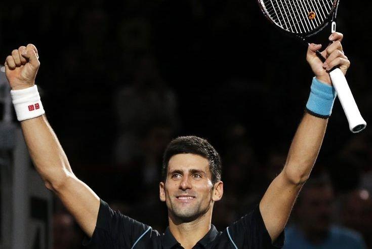 Novak Djokovic s'est adjugé son troisième tournoi successif,... (PHOTO GONZALO FUENTES, REUTERS)