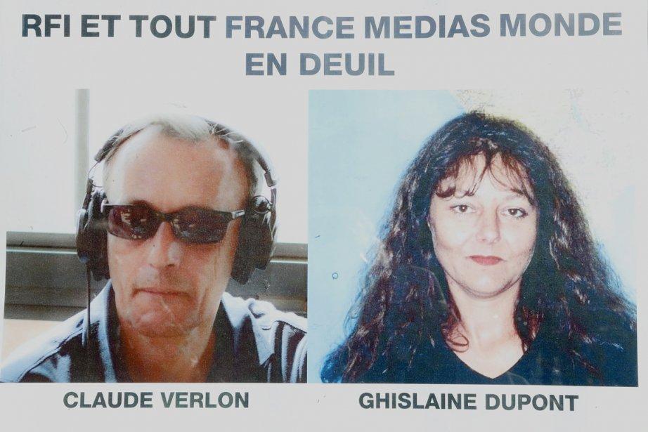 Les corps de Ghislaine Dupont, 57 ans, et... (PHOTO JACQUES BRINON, AP)