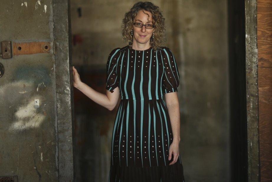 La peintre Julie Trudel a été finaliste au... (Photo: Martin Chamberland, La Presse)