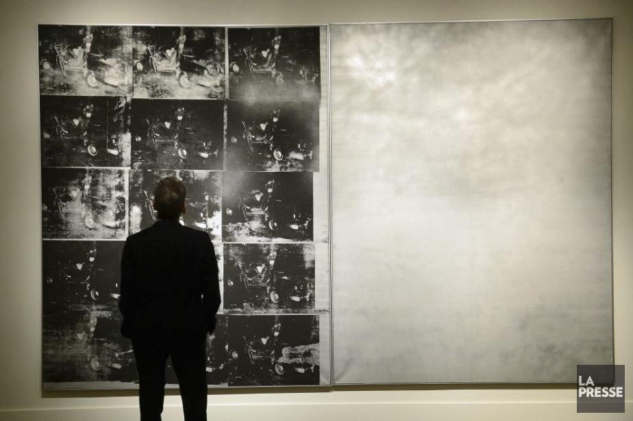 Chez Sotheby's, Silver Car Crash (Double Disaster) d'Andy... (Photo: archives La Presse)