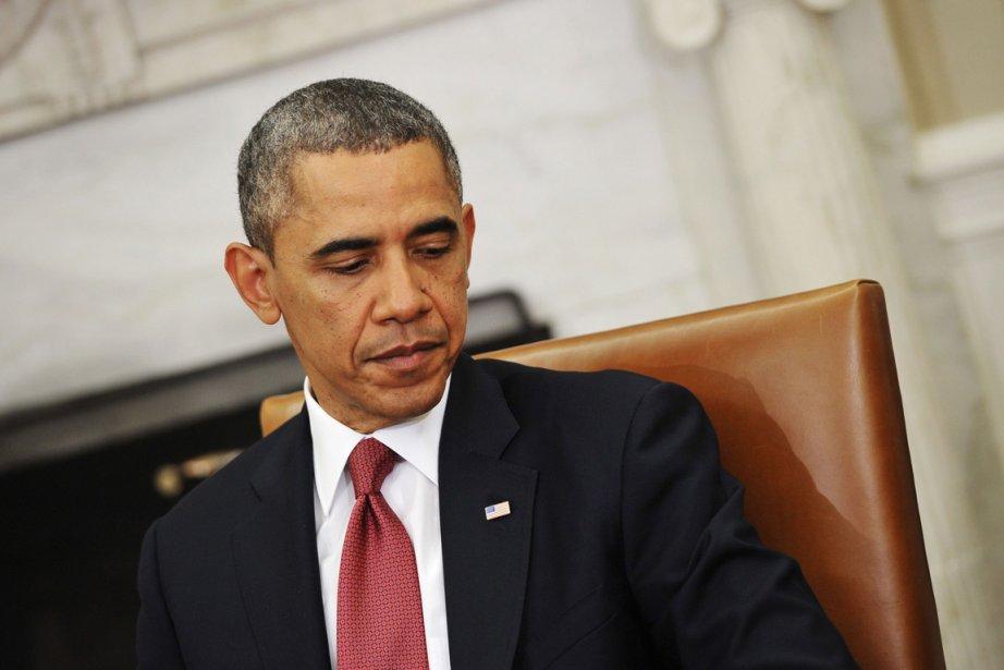 Le président américain Barack Obama... (Photo Mandel Ngan, AFP)