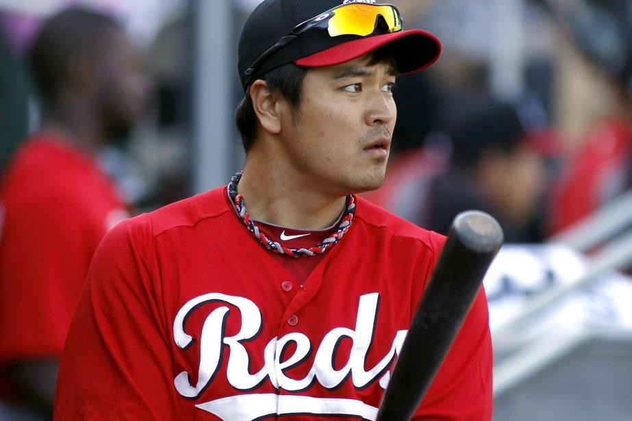Le premier frappeur des Reds de Cincinnati, Shin-Soo... (Photo RALPH D. FRESO, Reuters)