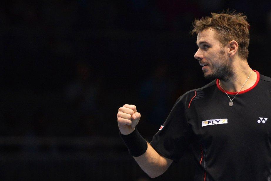 Wawrinka est le seul joueur qui en est... (Photo TOBY MELVILLE, Reuters)