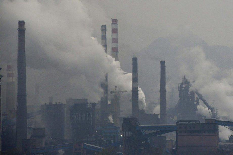 Pollution intense à Benxi, dans la province de... (Photo Reuters)