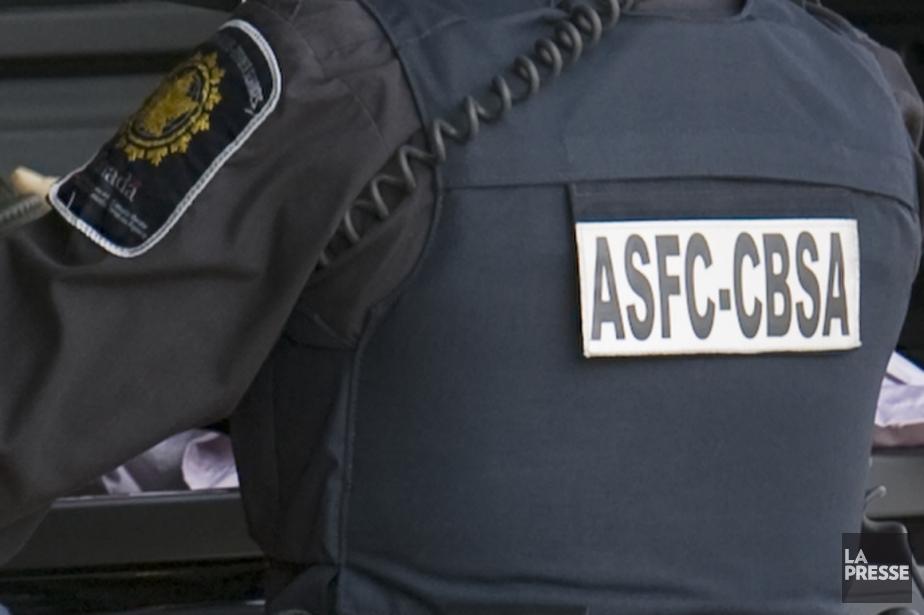 L'Agence des services frontaliers du Canada a saisi... (Photo archives La Presse)