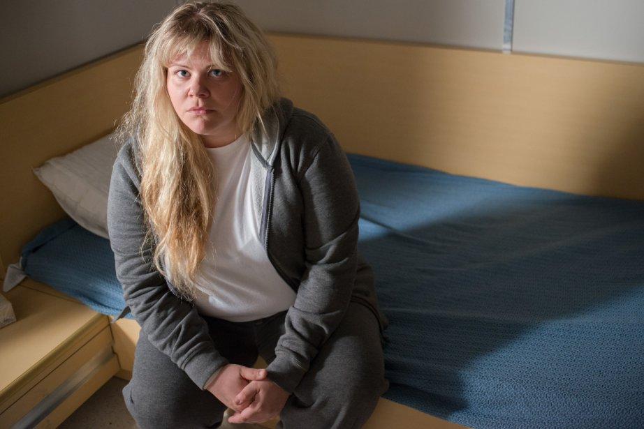 Geneviève Schmidt dans Unité 9.... (Photo: fournie par ICI Radio-Canada Télé)