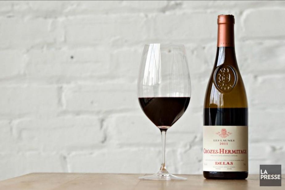 Vin rouge de Syrah, de la plus grande des... (Photo Olivier Jean, La Presse)