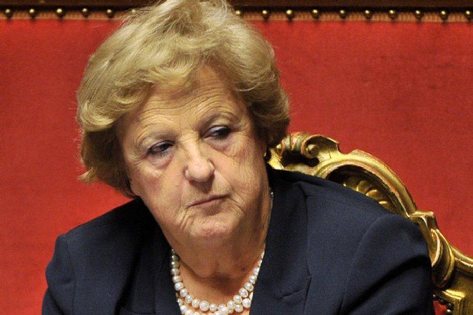 La ministre italienne de la Justice, Annamaria Cancellieri.... (PHOTO ISERNIANEWS.IT)