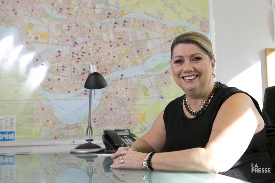 Nicole Deschênes est coordonnatrice à l'exploitation des magasins... (PHOTO HUGO-SÉBASTIEN AUBERT, LA PRESSE)