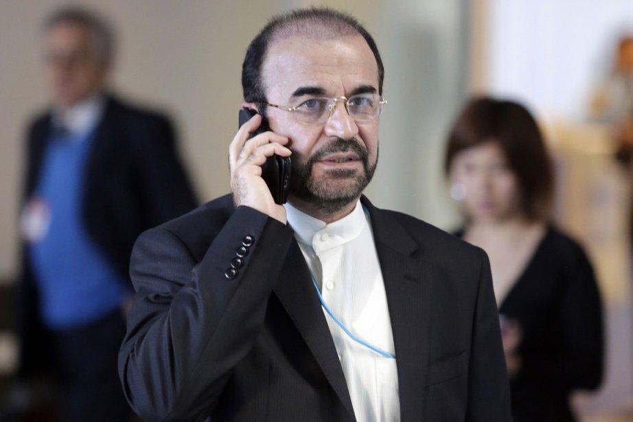 À Téhéran, l'équipe de négociation menée par le... (PHOTO DIETER NAGL, ARCHIVES AFP)