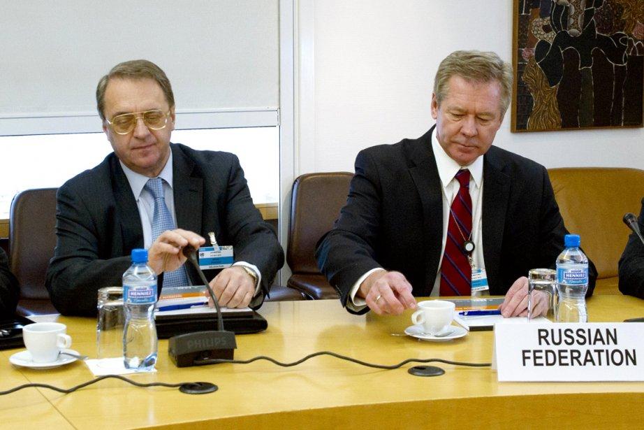 «Notre offre de contacts informels à Moscou dans... (PHOTO AFP/UN)