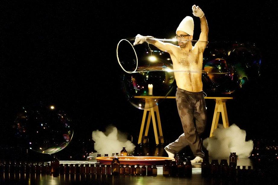 Le danseur Antony Rizzi a interprété hier soir... (Photo: fournie par le Théâtre La Chapelle)