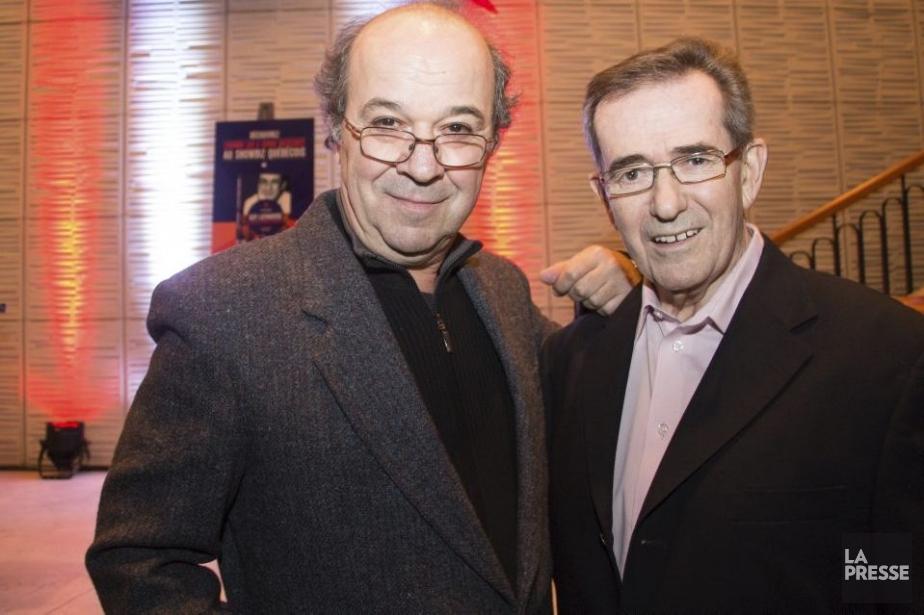 Daniel Lemay et Guy Latraverse... (Photo: Ninon Pednault, La Presse)
