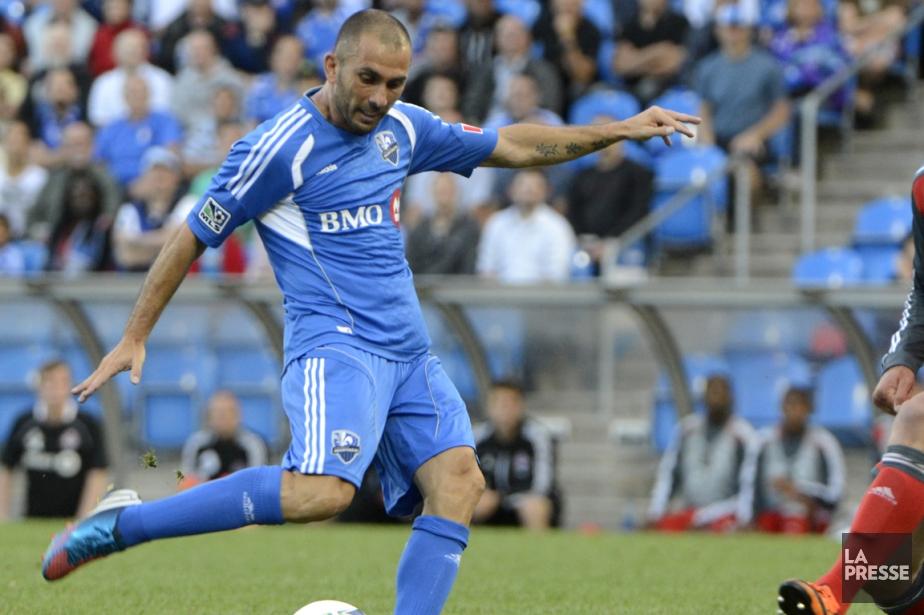 Marco Di Vaio a terminé la saison au... (Photo Bernard Brault, La Presse)
