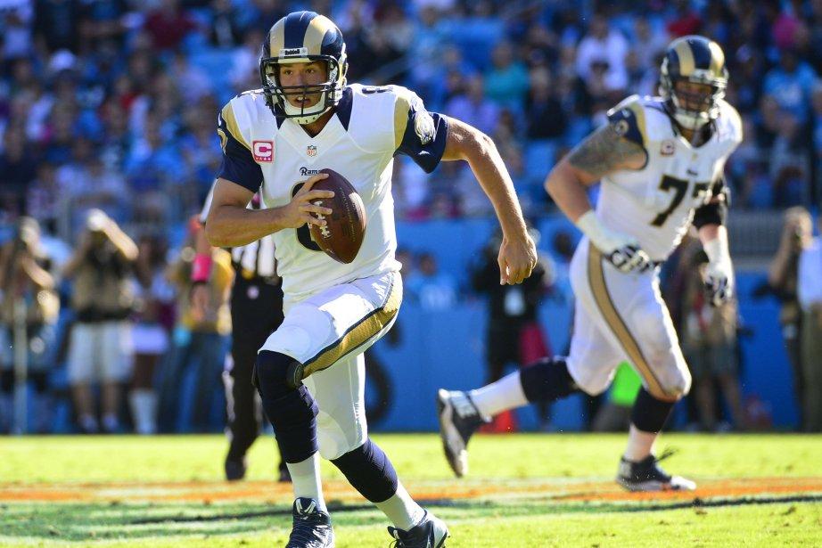 Le quart des Rams de St. Louis, Sam... (PHOTO Bob Donnan, USA Today Sports)
