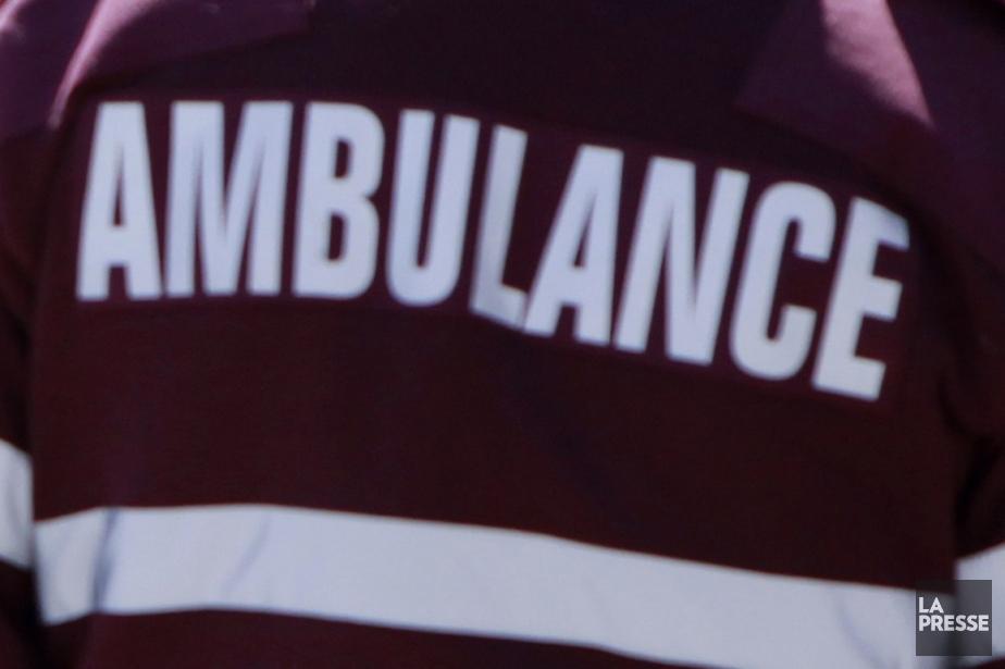 Une adolescente a péri dans une violente collision... (Photo archives La Presse)