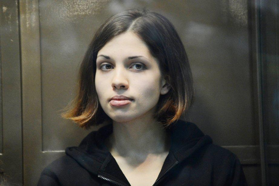 Nadejda Tolokonnikova, qui fête jeudi son 24e anniversaire,... (PHOTO NATALIA KOLESNIKOVA, ARCHIVES AFP)