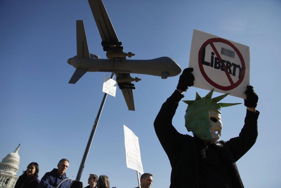 L'Agence américaine de l'aviation civilereconnaît «qu'il existe un... (Photo JONATHAN ERNST, Reuters)
