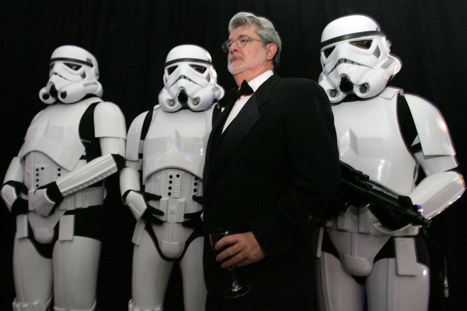 George Lucas, qui a lancé la saga en... (Photo REUTERS)