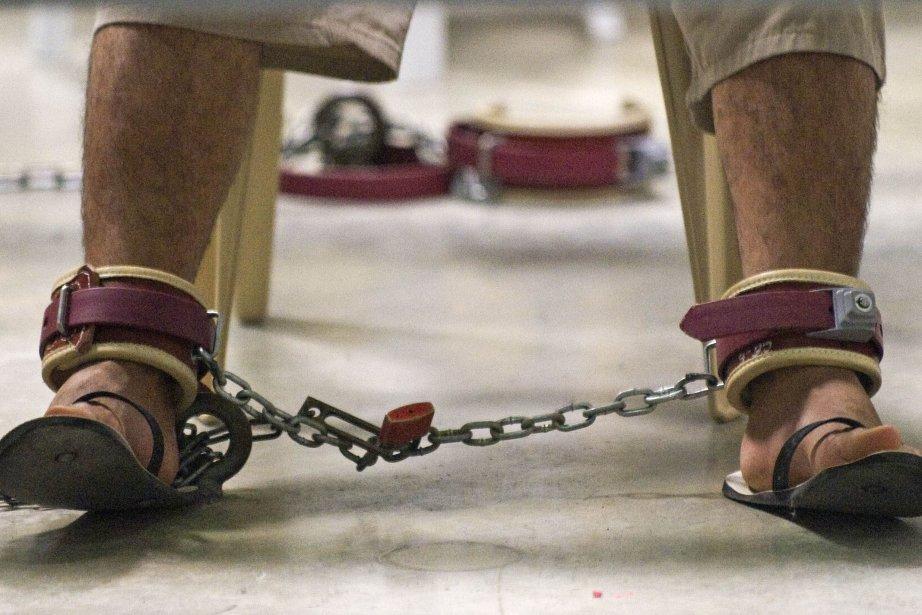 Il reste 154 personnes détenues dans la prison... (Photo Paul J. Richards, AFP)