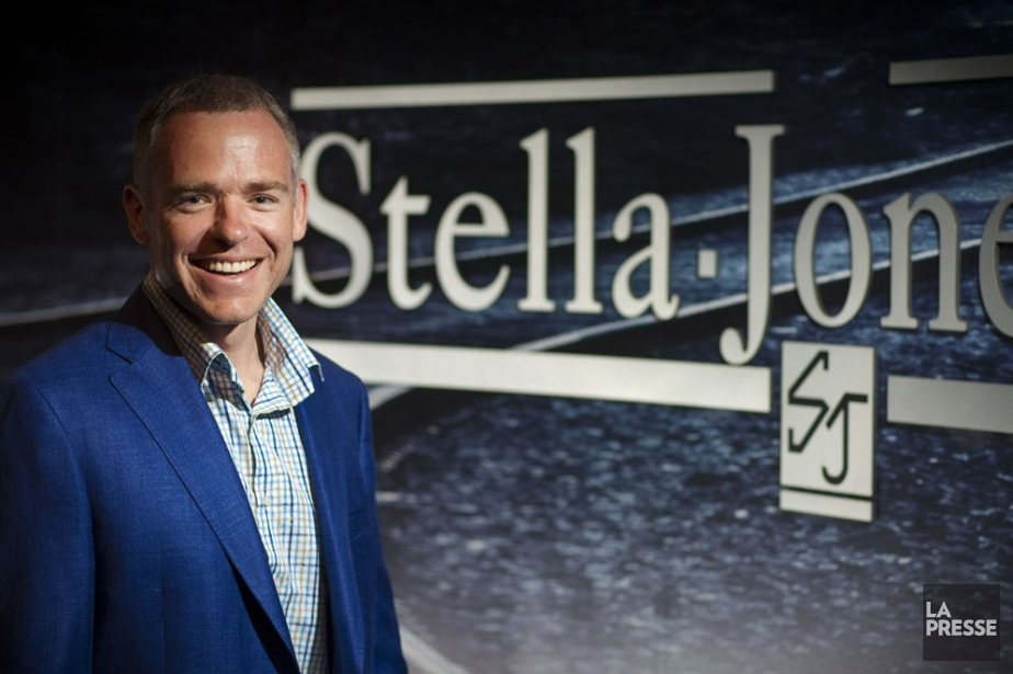 Brian McManus, PDG de Stella-Jones.... (Photo: André Pichette, La Presse)
