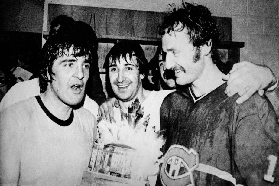 Guy Lapointe (au centre) était aussi bon que... (Photo archives AP)