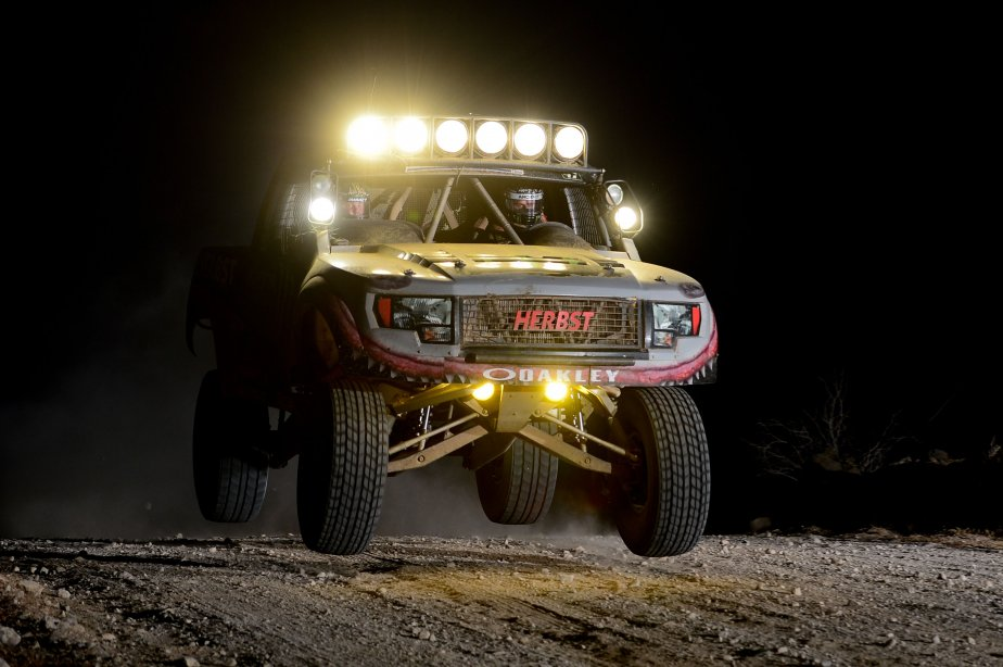 Ryan Arciero au volant de son Trophy Truck.... (Photo US Presswire)
