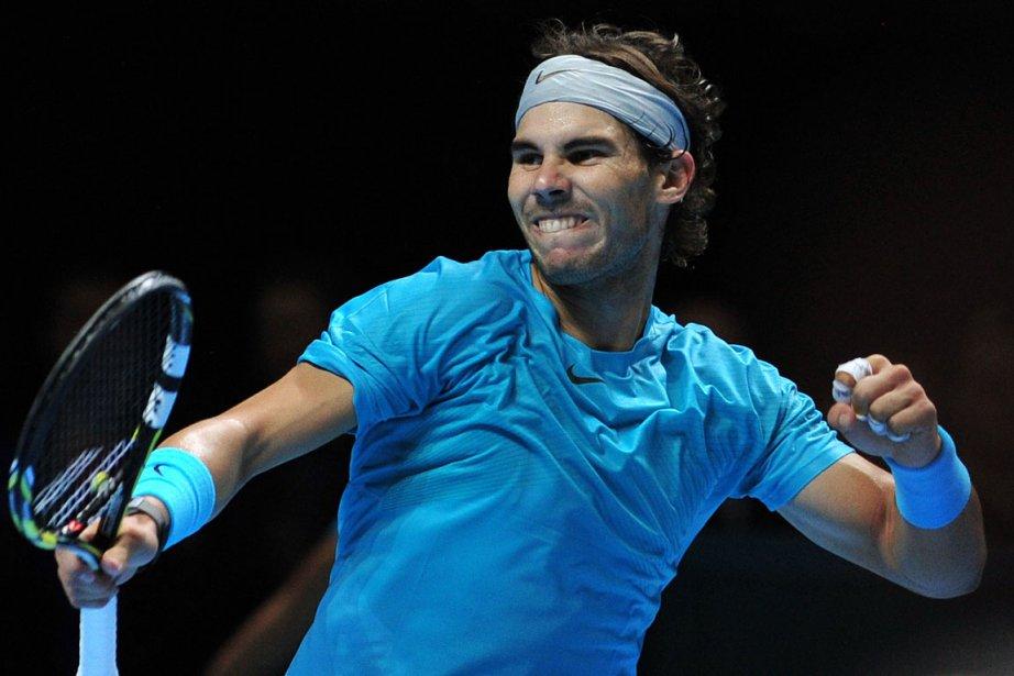 Rafael Nadal a défait Tomas Berdych 6-4, 1-6,... (Photo Carl Court, AFP)