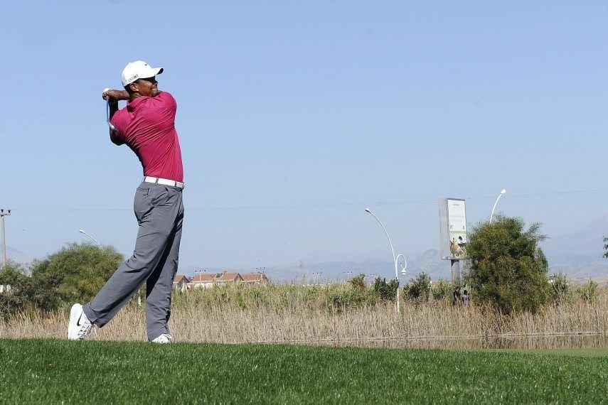 Les choses se sont gâtées pour Tiger Woods... (Photo AFP)