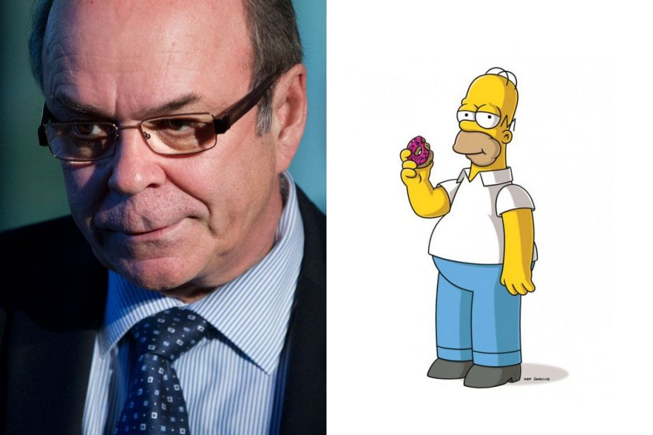 Michel Arsenault etHomer Simpson...