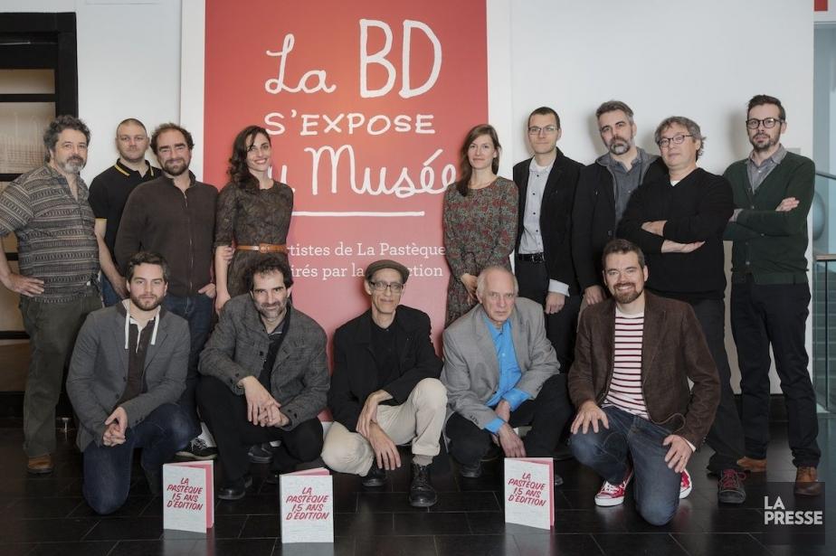 L'exposition du MBAM met en vedette 15 bédéistes... (PHOTO EDOUARD PLANTE-FRÉCHETTE, LA PRESSE)