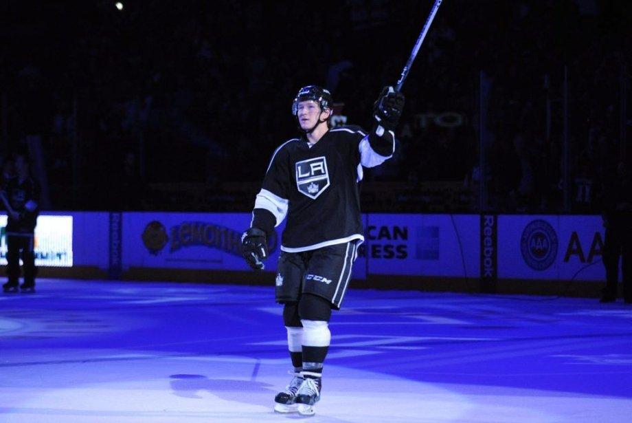 Tyler Toffoli a mérité la première étoile du... (Photo Gary A. Vasquez, USA Today Sports)