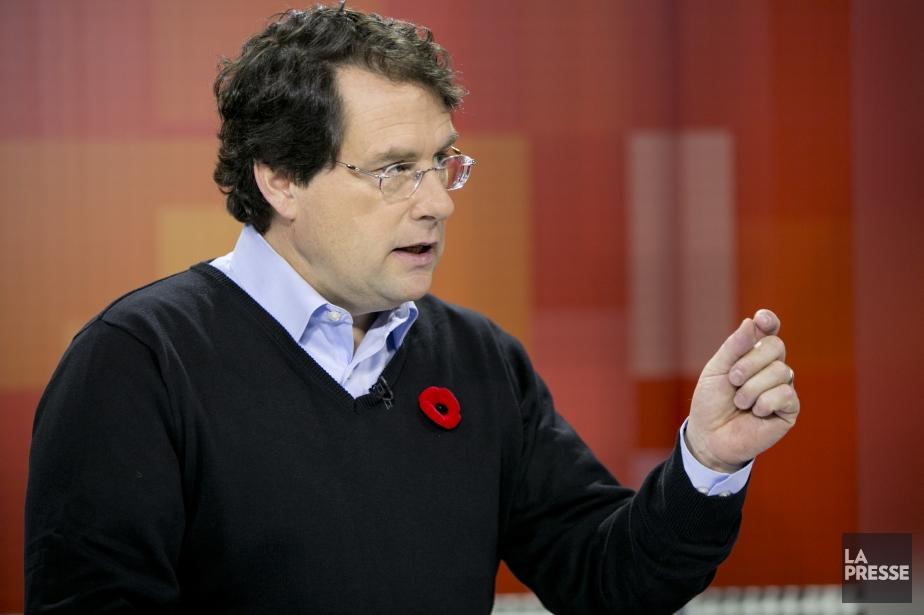 Le ministre des Institutions démocratiques,Bernard Drainville.... (Photo David Boily, La Presse)
