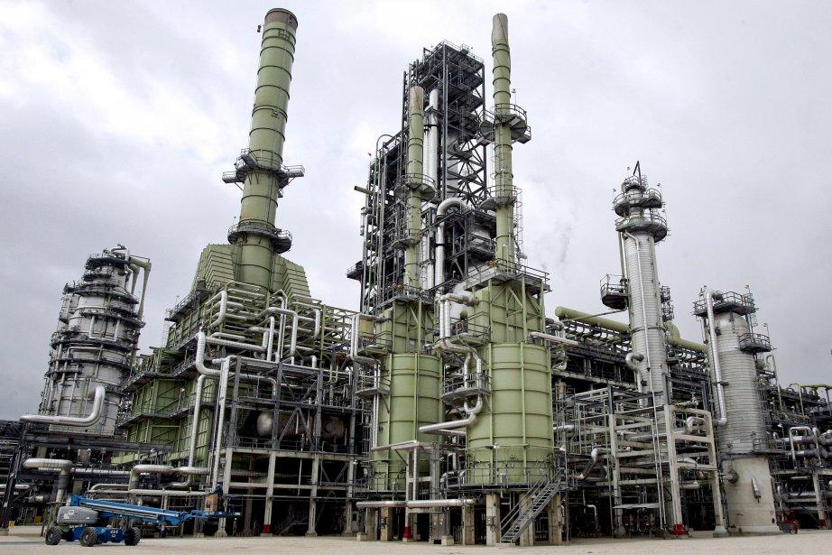 Une rafinerie deMarathon Oil aux États-Unis.... (Photo Patrick Semansky, Bloomberg)