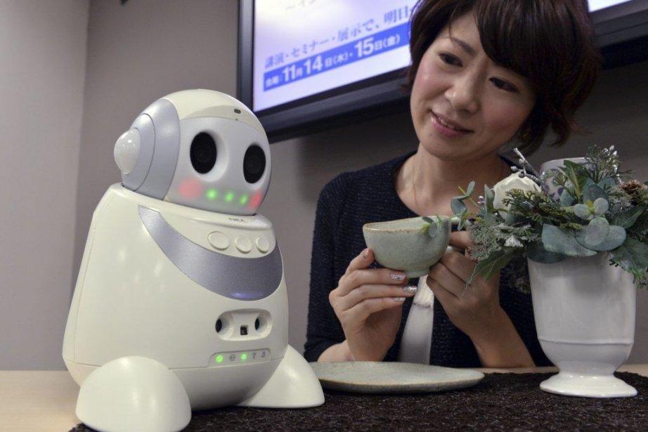 «Papero petit» est muni de plusieurs types de... (PHOTO YOSHIKAZU TSUNO, AFP)