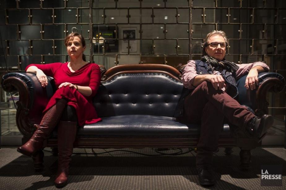 La pièce Clôture de l'amour est scindée en... (Photo: Olivier Pontbriand, La Presse)