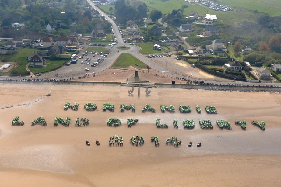 Le site du Débarquement de Normandie.... (Archives AFP)