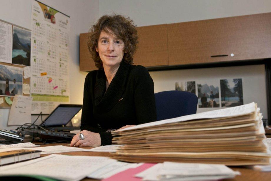 Julie Frenette, coordonnatrice des études et responsable du... (PHOTO HUGO-SÉBASTIEN AUBERT, LA PRESS)