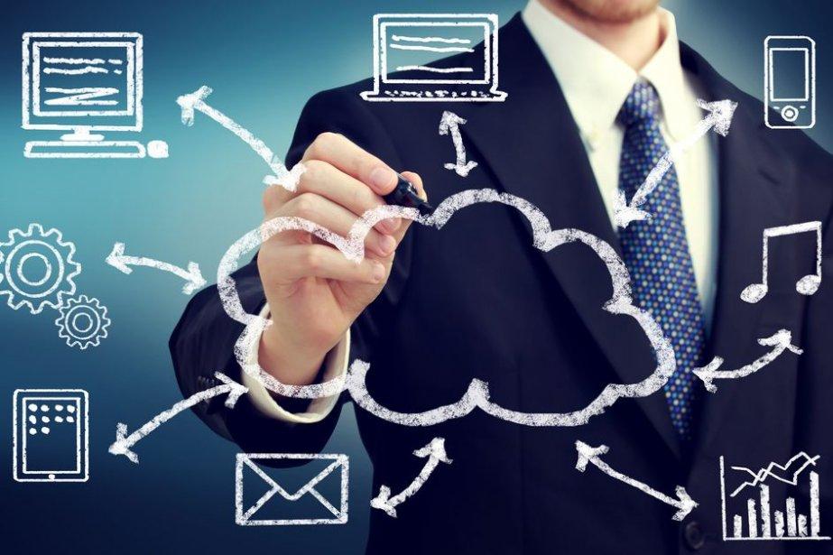 L'infonuagique permet désormais de centraliser et de synchroniser... (Photo Melpomene/shuuterstock.com)