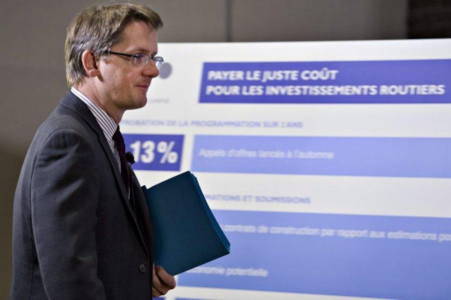 Sylvain Gaudreault... (Photo La Presse Canadienne)