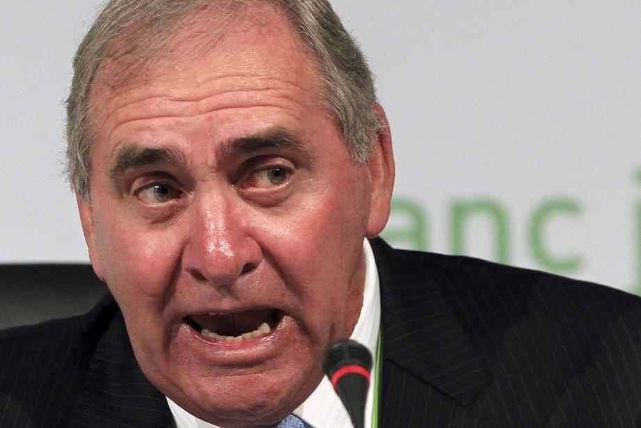 Le président de l'Agence mondiale antidopage, John Fahey....