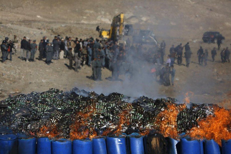 Outre l'alcool - interdit en Afghanistan -, ce... (PHOTO MOHAMMAD ISMAIL, REUTERS)