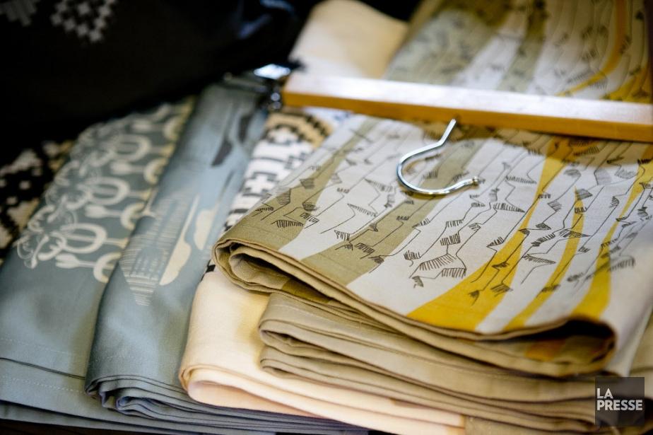 Les pièces de création de Florence Hupin, même... (PHOTO MARCO CAMPANOZZI, LA PRESSE)
