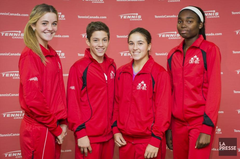 La relève québécoise en tennis a pour nom... (Photo Edouard Plante-Fréchette, La Presse)