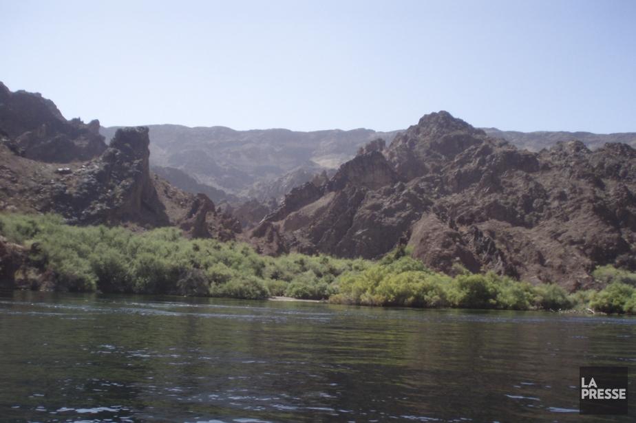 Le paysage du Black Canyon, pèrs du barrage... (Photo Sara Champagne, La Presse)