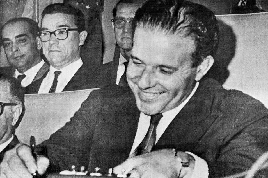 L'ancien président du Brésil Joao Goulart (1961-1964).... (Photo AP)